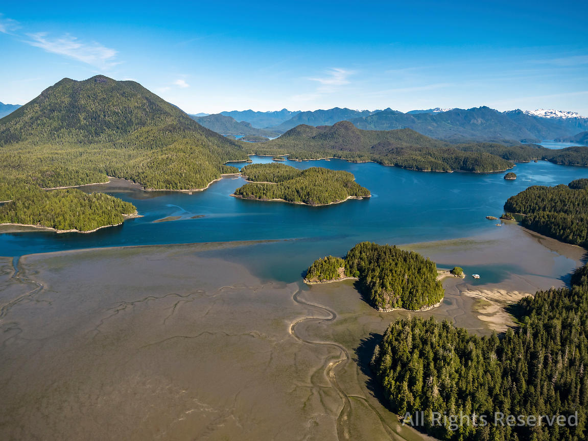 Meares Island layoquot Tofino Vancouver Island BC