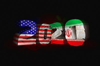 A new decade begins with escalating tension between the USA and Iran.