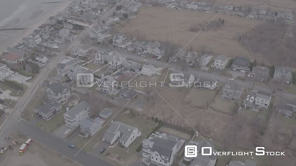Drone Video Fairfield Beach Connecticut - V-Log