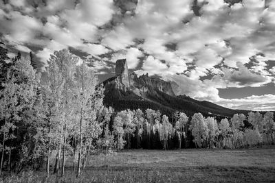 Chimney Rock Monochrome