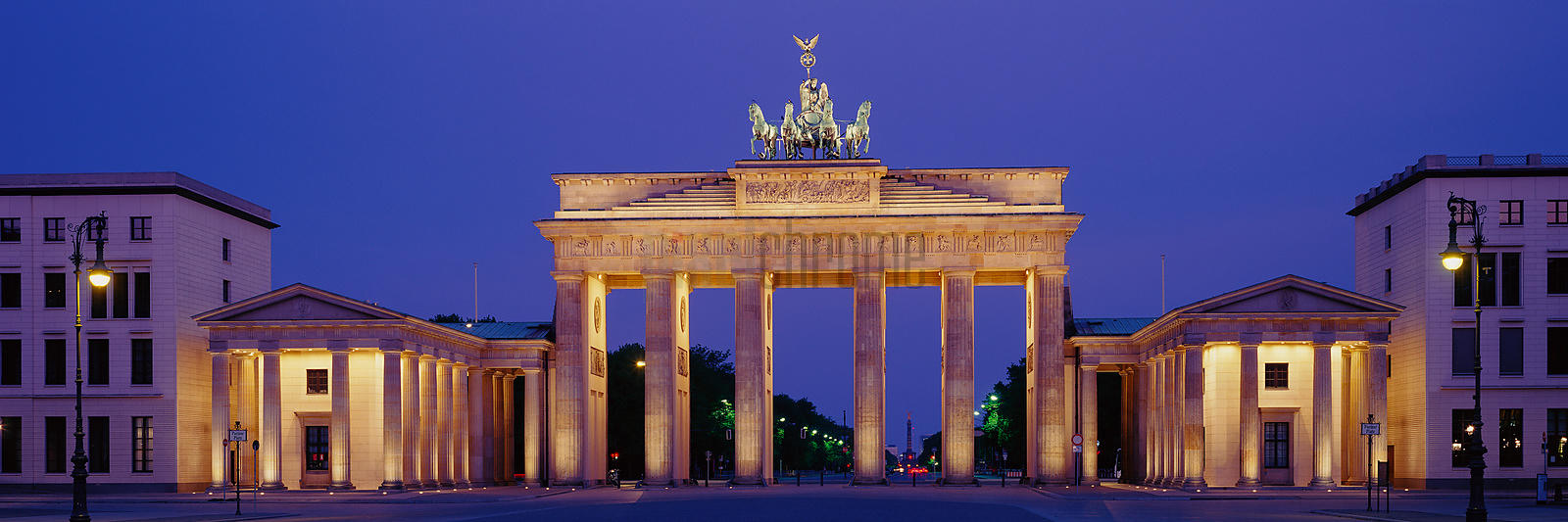 Brandenburg Gate at Dusk
