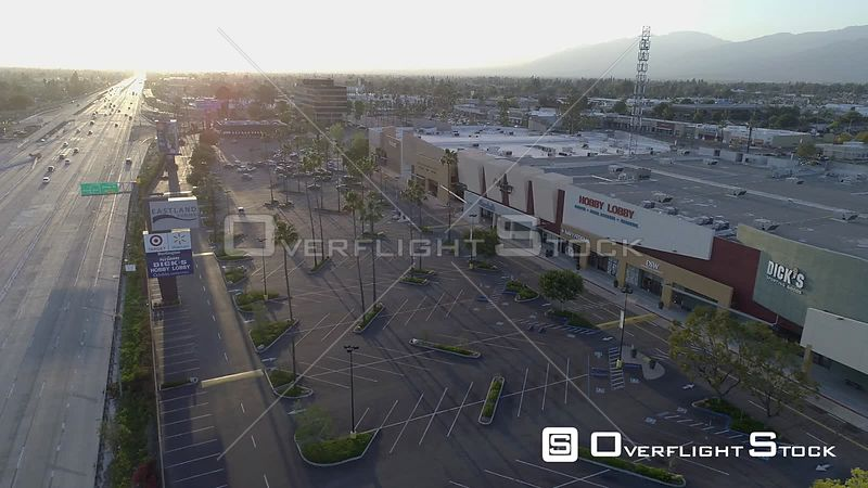 Eastland Center and San Bernadino Highway Covina California during COVID-19 Pandemic