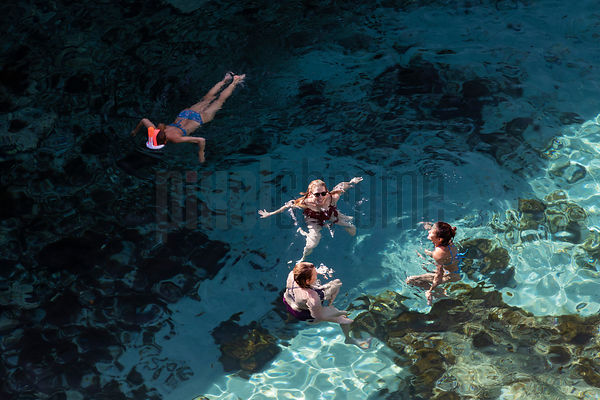 People Swimming in La grotta della Poesia