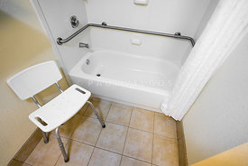 Disabled Access Bathtub and Chair