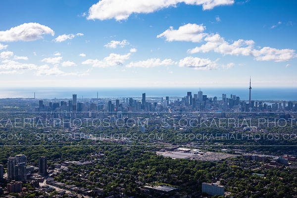 Downtown Toronto Skyline in the distance