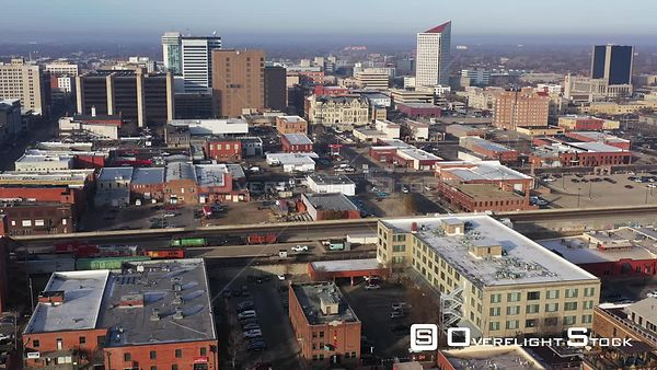 Downtown Buildings and Streets, Wichita, Kansas, USA