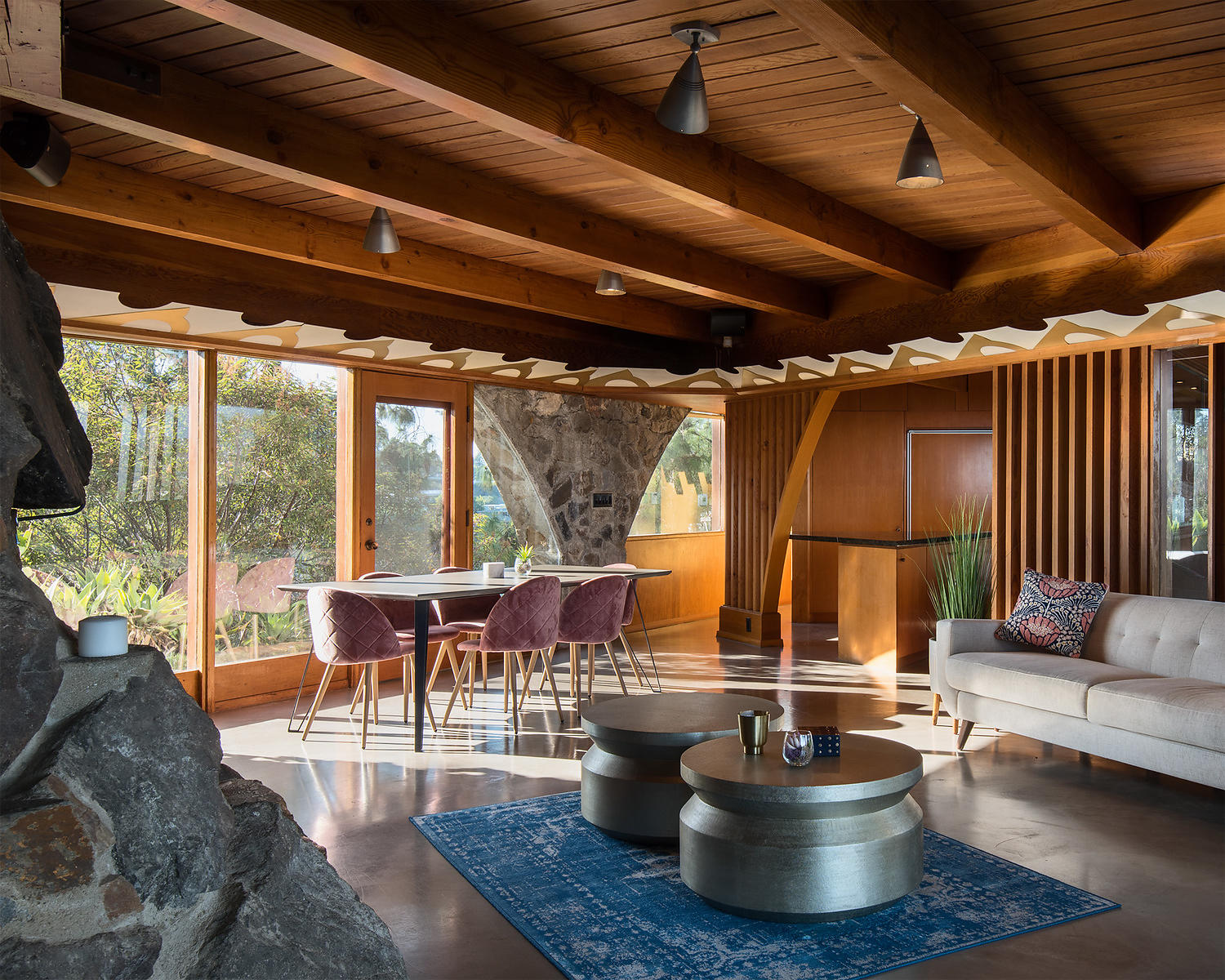 Lloyd Wright - Hollywood Hills