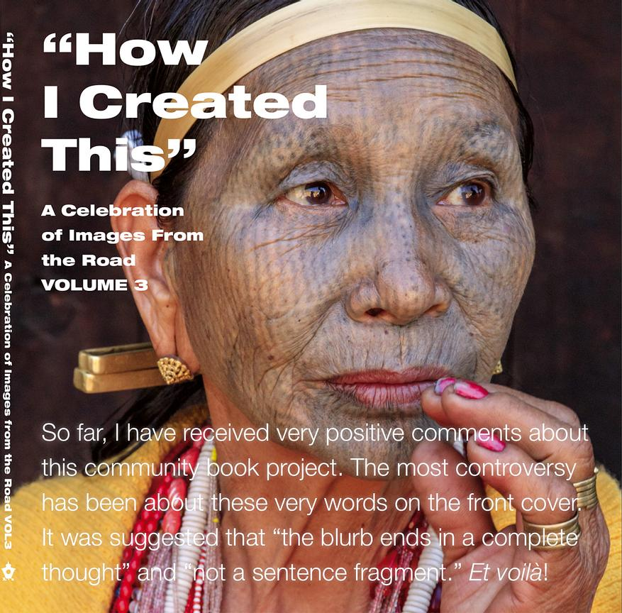 HOW I CREATED THIS VOLUME 3