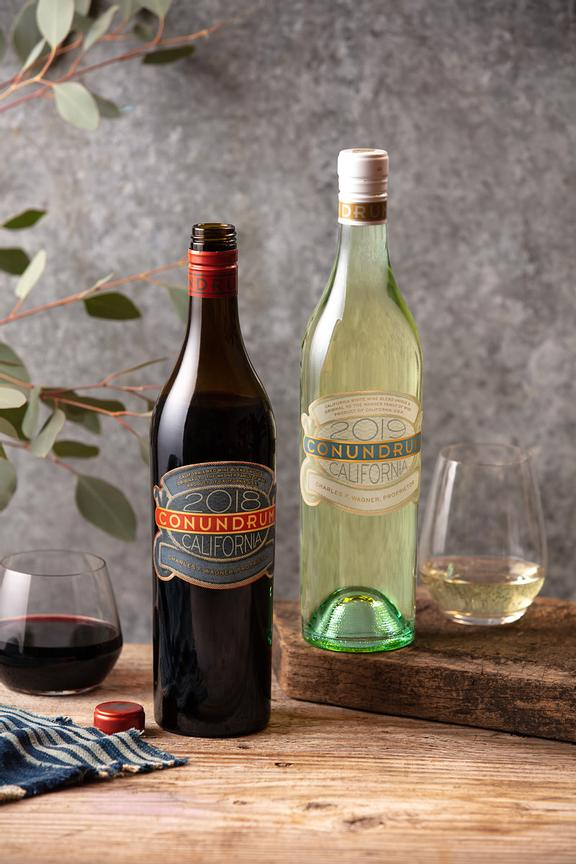 Commercial wine photography for Conundrum Wines by Jason Tinacci
