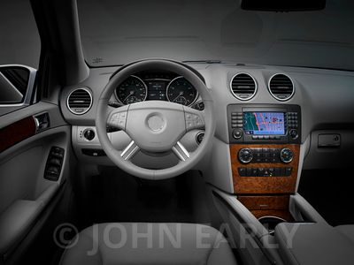 Light Grey SUV Dash Interior