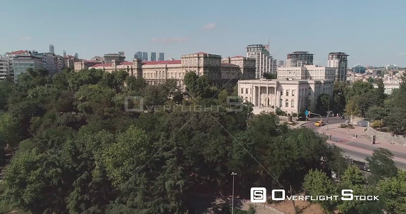 Aerial View Istanbul Technical University Turkey