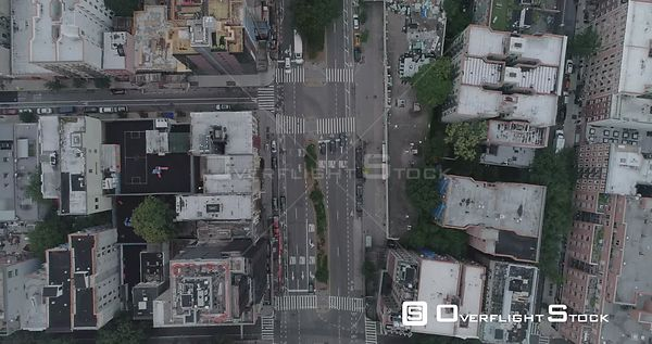 High Aerial View Looking Down on Housten St Lower East Side