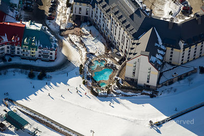 Ski Resort of Le Mont-Tremblant Quebec Canada