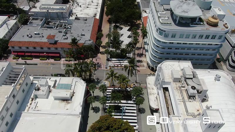 Lincoln Road South Beach Miami Florida During Covid-19 Pandemic