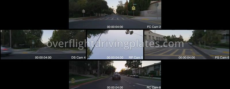 Cal Tech  Pasadena California USA - Driving Plate Preview 2012