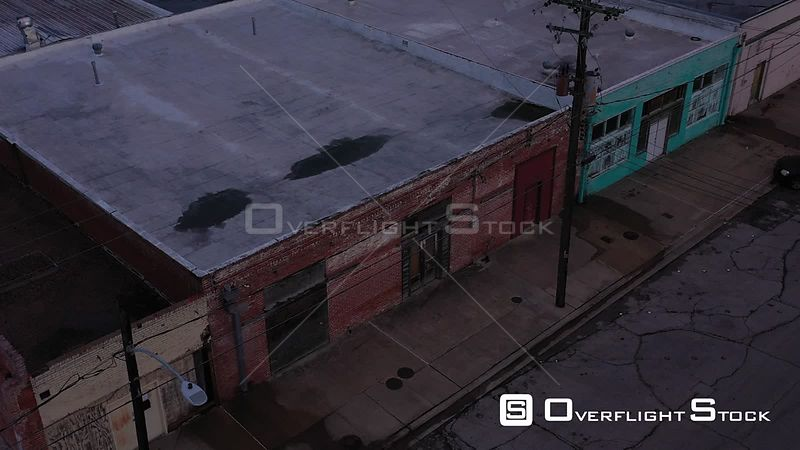 Abandoned Storefront Warehouse, Bryan, Texas, USA