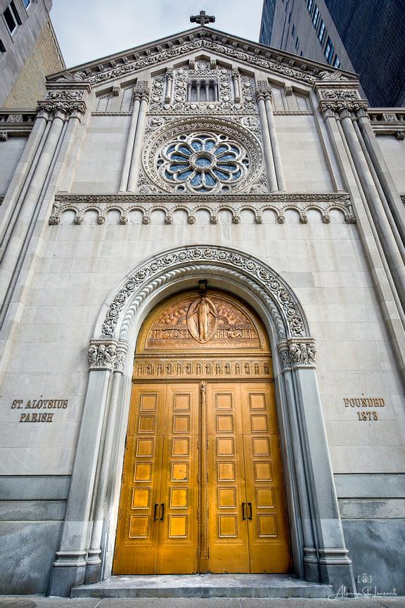 St._Aloysis_Parish_Front_Door