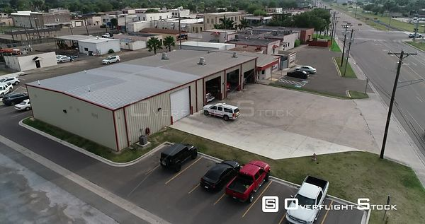 La Feria Texas Police Station and Businesses