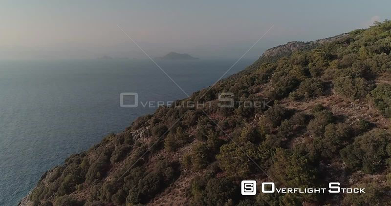 Aerial View of Turkish Coast