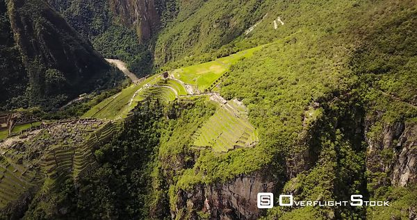 Machu Picchu Incan Citadel in the Andes Mountains of Peru