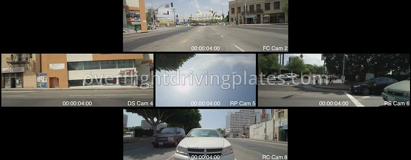 Union Station  Los Angeles California USA - Driving Plate Preview 2012