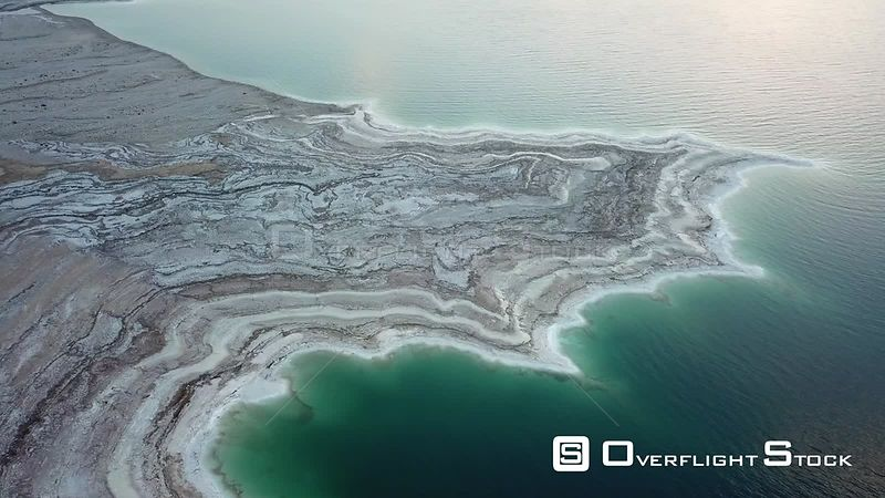 Dead Sea Coastline Israel