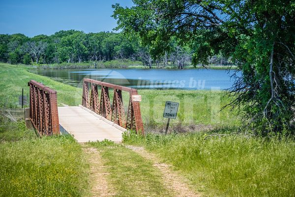 A beautiful lake park in Hagerman Wildlife Refuge, Texas
