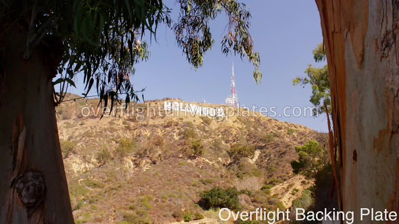 Hollywood Sign - Los Angeles California USA - BackingPlate Sep 19, 2019