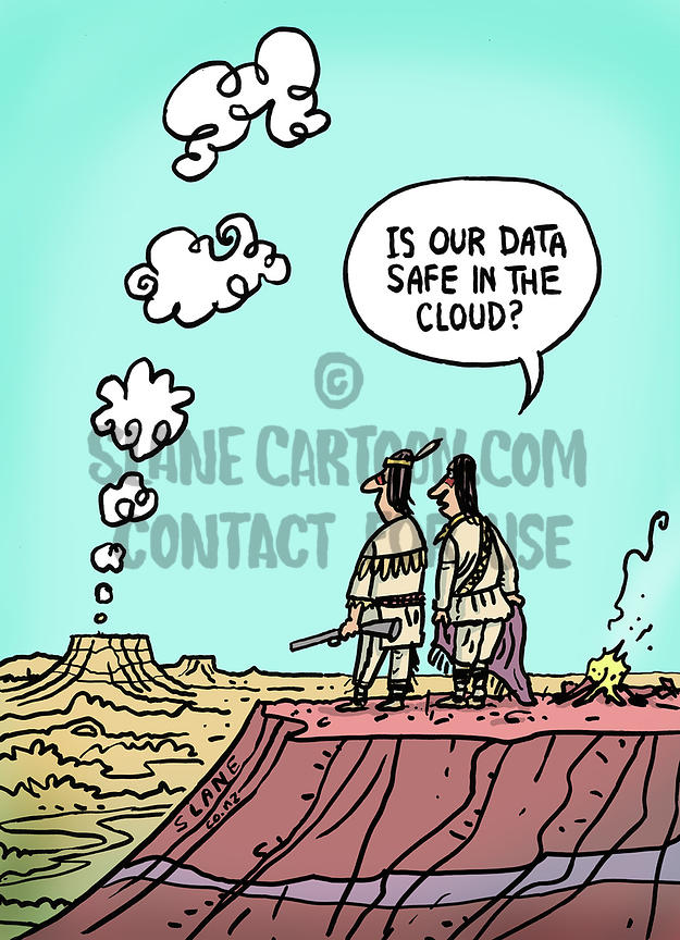 Cloud Data In The West
