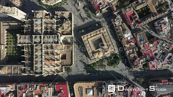 Drone Video Seville Cathedral Spain