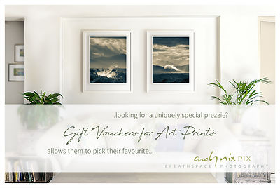 Gift Vouchers for Fine Art Wall Decor Photographic Prints