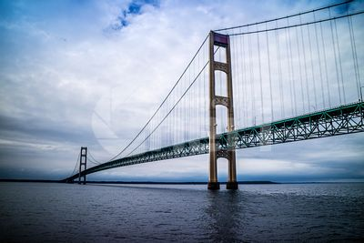 Mackinac Bridge in Mackinac Island St. Ignace, Michigan