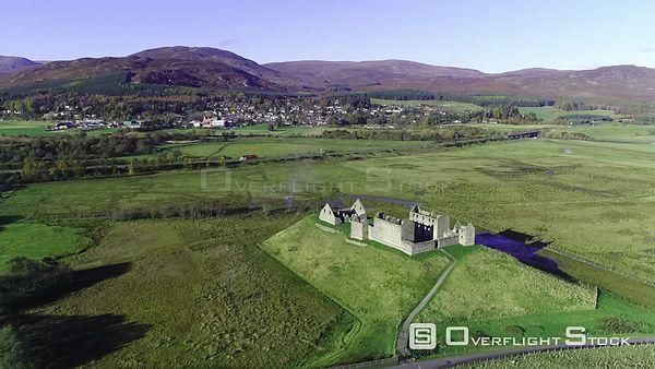Ruthven Barracks Kingussie Scotland