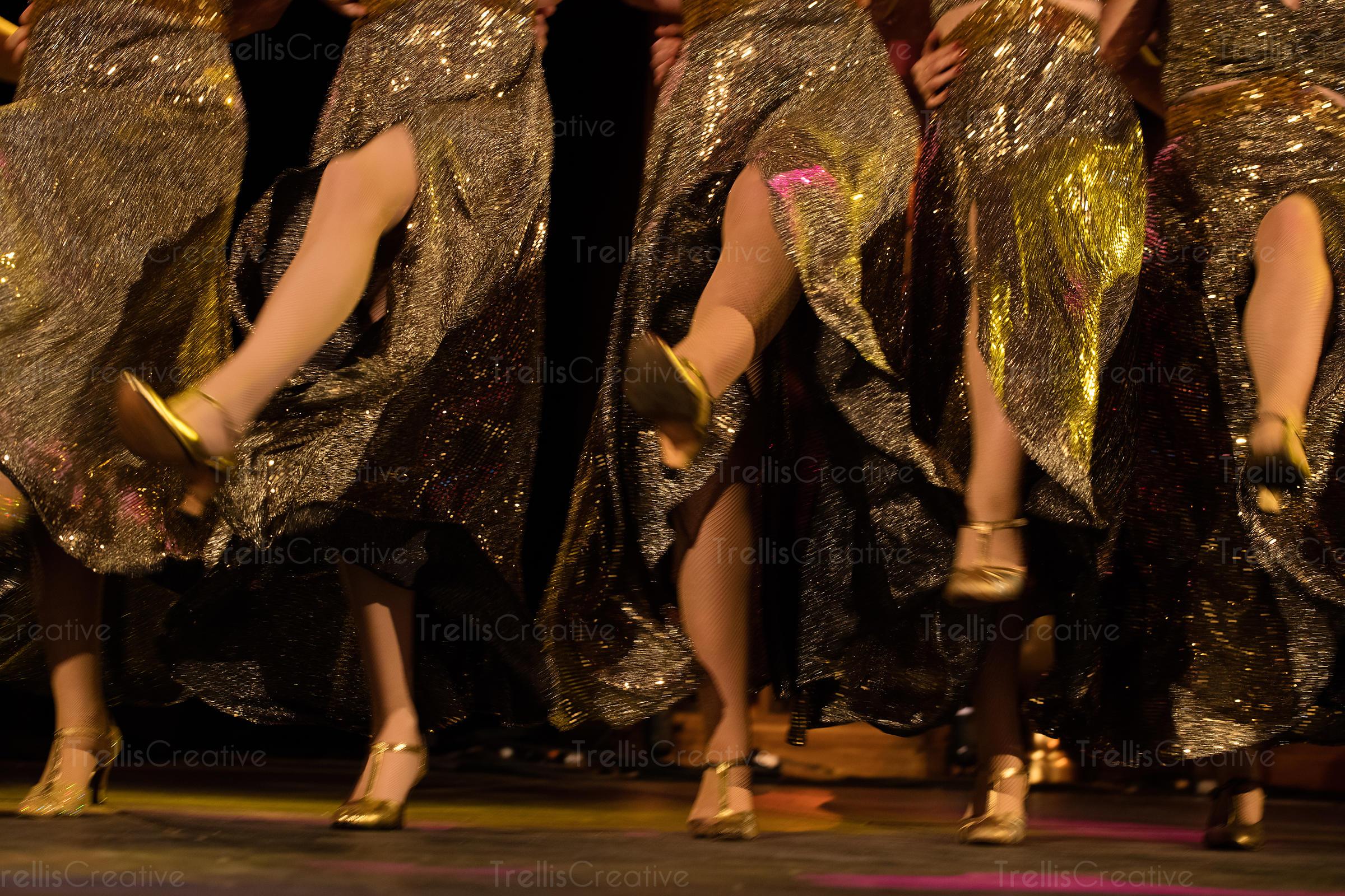 Women showing legs
