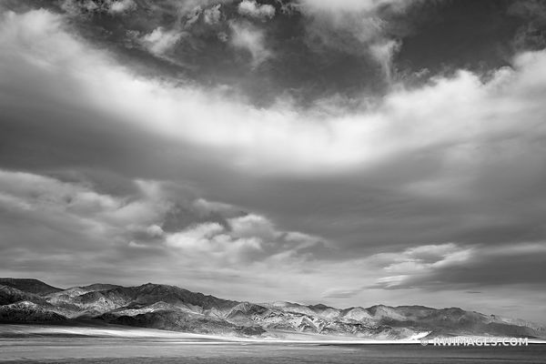 DEATH VALLEY CALIFORNIA BLACK AND WHITE