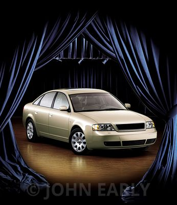 Tan Sedan Center Stage