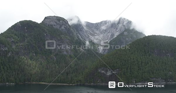Central Coast, BC Canada. Great Bear Rainforest Fjords, Heiltsuk Nation, Bella Bella