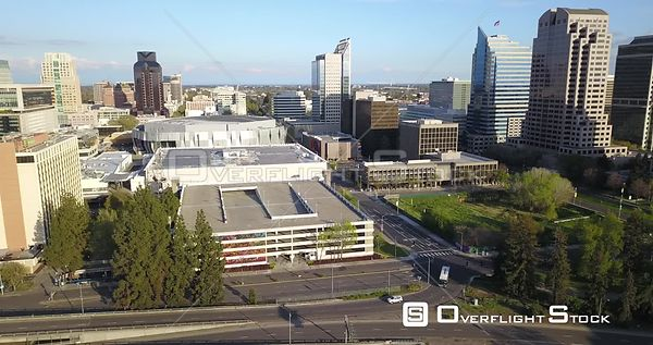 Drone Video Sacramento California During COVID-19 Pandemic