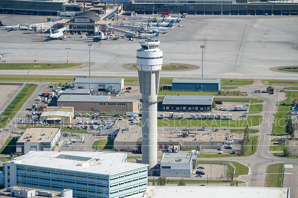 Air Traffic Control Tower, Calgary International Airport