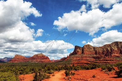 Red Rock Buttes in Sedona, Arizona, USA