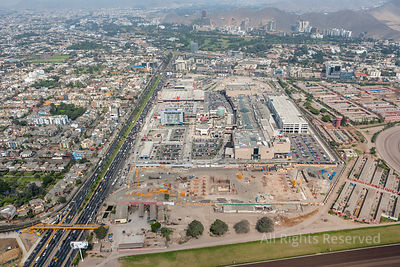 Commercial And Shopping Area Capital City Lima Peru