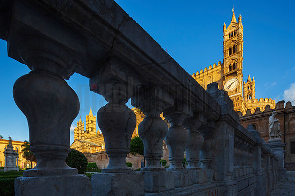 The Cathedral of Palermo at Dawn