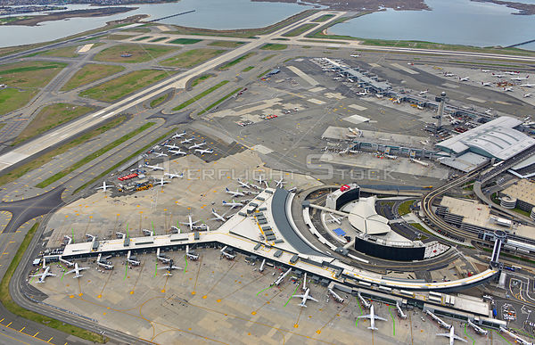 JFK Airport Parked Planes During Covid-19 Pandemic New York