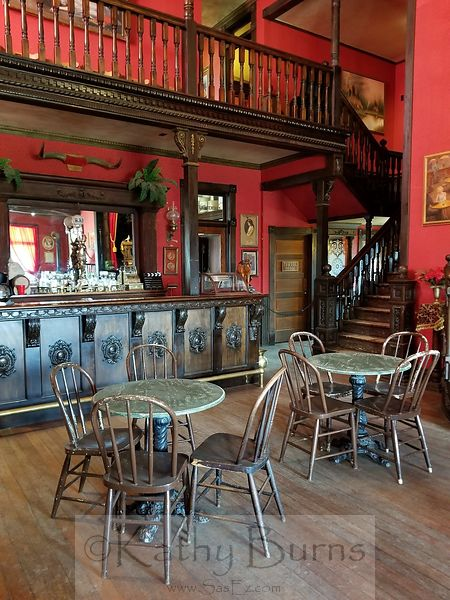 Old West Saloon Interior