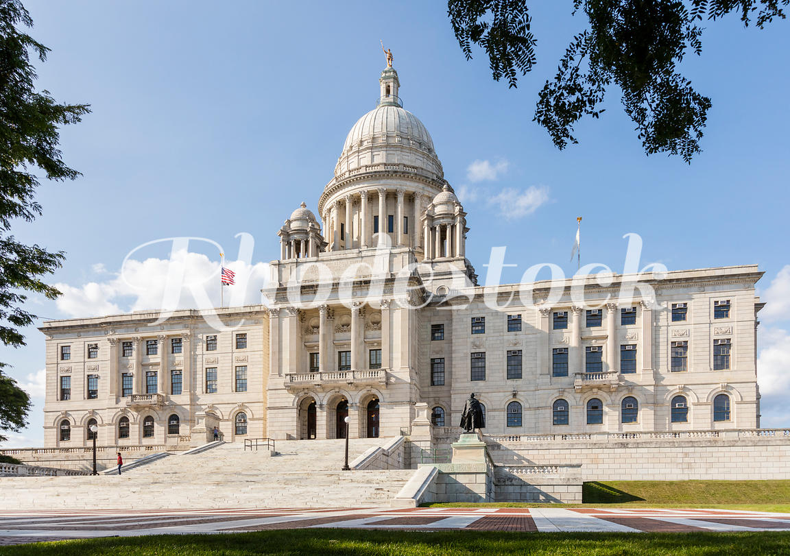 Rhode Island State House building.