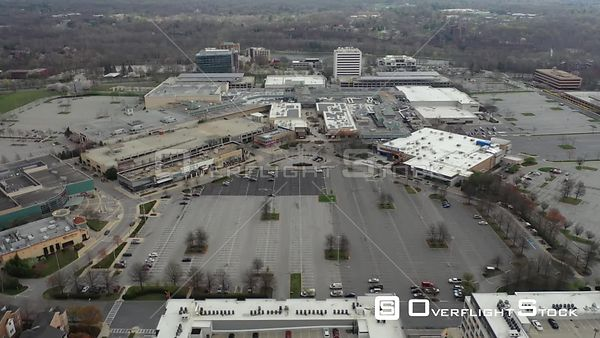 Drone Video Columbia Mall Maryland During COVID-19 Pandemic