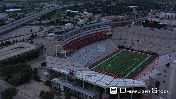 Football Stadium, University of Nebraska, Lincoln, Nebraska, USA
