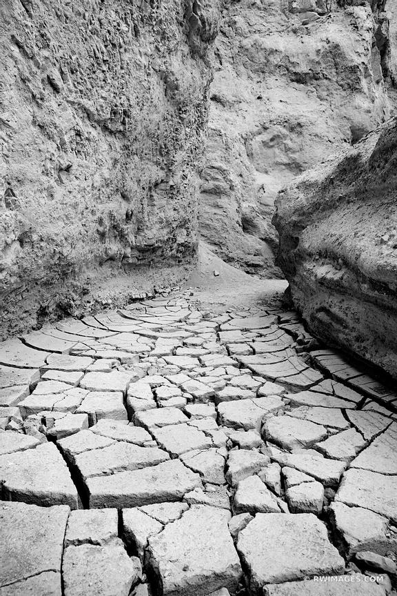 DESOLATION CANYON DEATH VALLEY NATIONAL PARK CALIFORNIA BLACK AND WHITE VERTICAL
