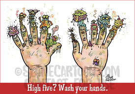 High Five Poster
