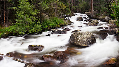 Glacier Creek Cascade